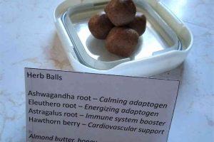 Stress Herb Balls